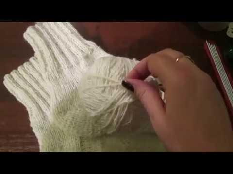 Мужские носки 45 спицами