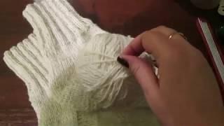 Мужские носки Спицами. Размер 44-45