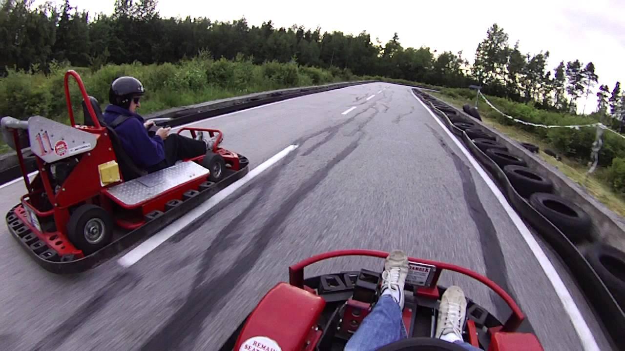 Karting at Richmond Go Karts