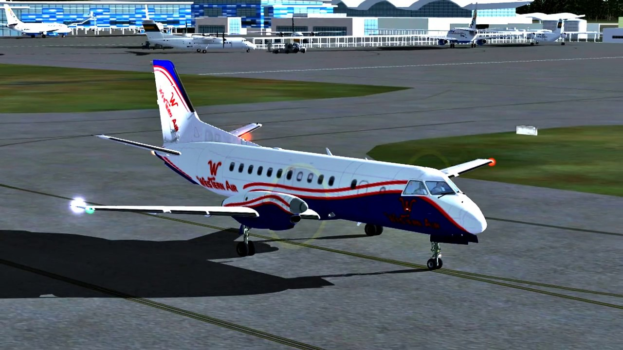 FSX Western Air Heading Andros