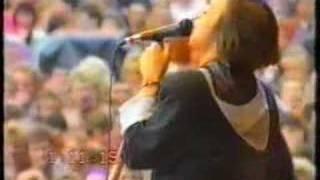 "Nannini ""sorridi""+""avventuriera"" live 1991 e intervista"