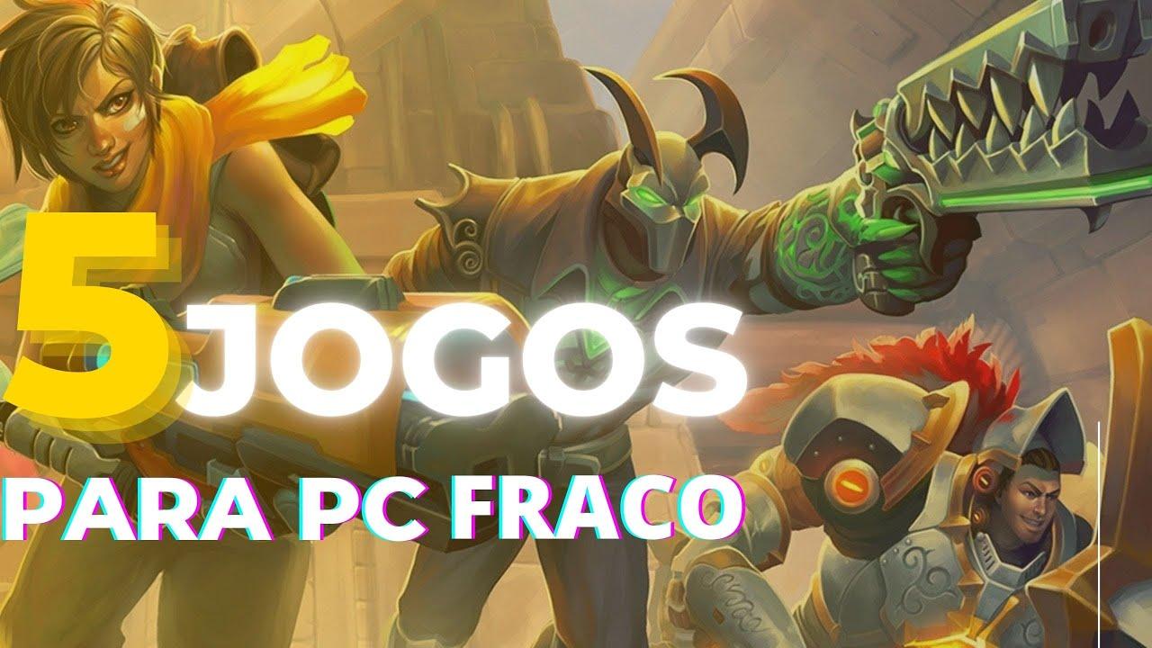 Melhores jogos para pc fracos (RECOMENDAVEL) - YouTube
