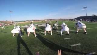SRU Football QB Helmet Cam