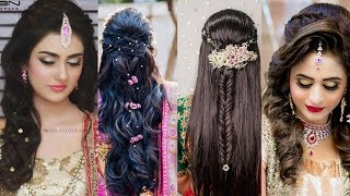 To Trending and New Hairstyles with Makeup look Design for girls 2019-20