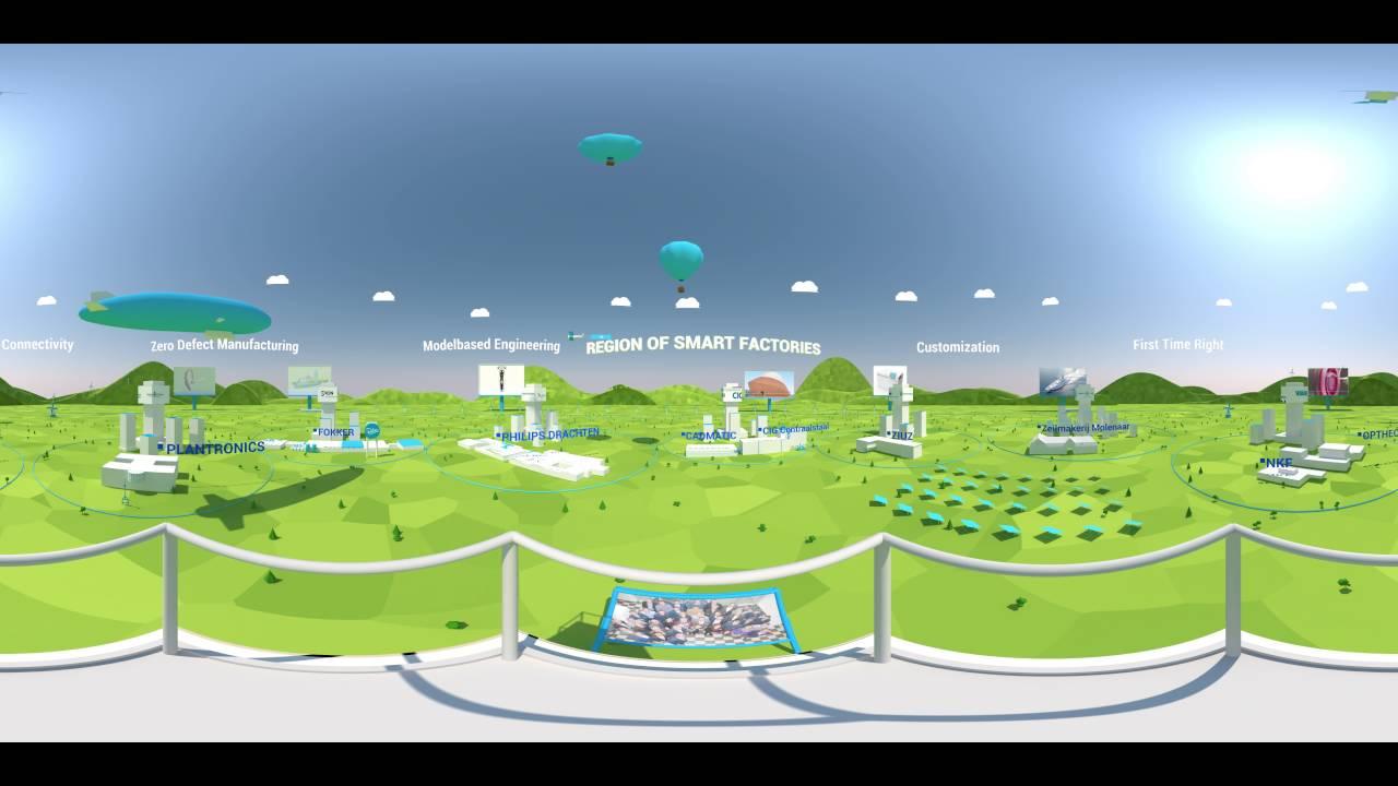 Region of Smart Factories [ 360° ] Virtual Reality