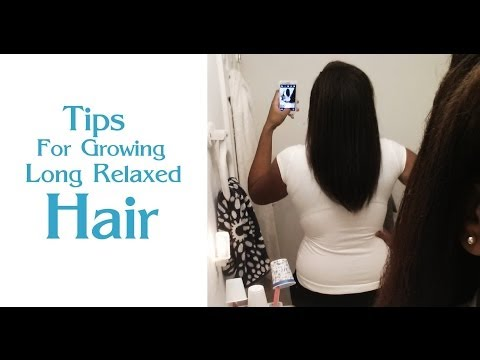 Relaxed Hair Can Grow