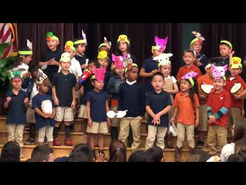 UT Elementary Kids Sing a Groovy Old McDonald's Farm to Celebrate Black History Month