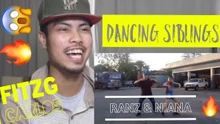 Ed Sheeran - Shape Of You Siblings Dance | Ranz and Niana | Reaction