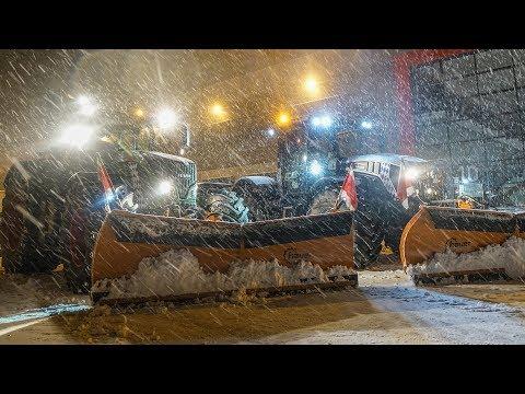 Lohnunternehmen Strobl Agrar: Winterdienst - Teil 4