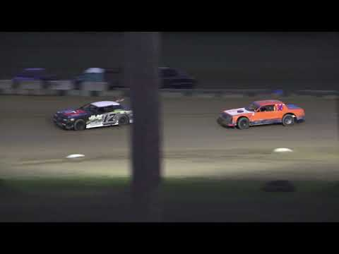 Street Stock Heat Race #2 at Crystal Motor Speedway, Michigan on 09-01-2019!