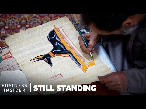 Meet Some Of The Last Papyrus Makers In Egypt Keeping A 5,000-Year-Old Craft Alive | Still Standing