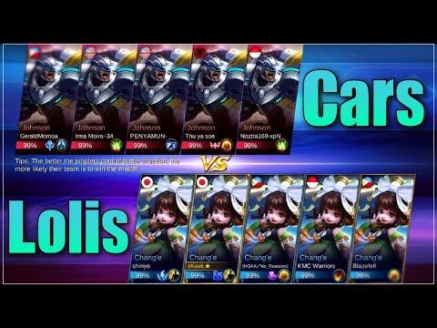 Chang'e VS Jhonson Intense Battle | Mobile Legends: Bang Bang | zkael★