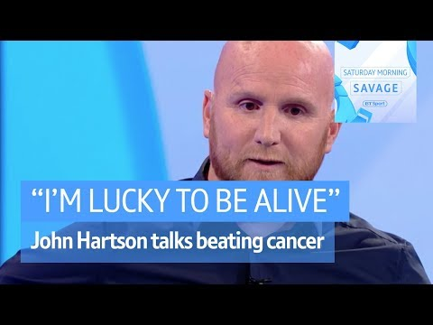 Hartson: I'm lucky to be alive after being ignorant of cancer | Saturday Morning Savage