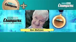 Ben Mathews - 2017 Peoples Health Champion