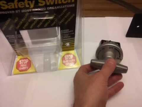 BATTERY DISCONNECT SWITCHES - Precautions to take!