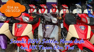Suzuki RGV, Satria, Nova Dash 08/2019