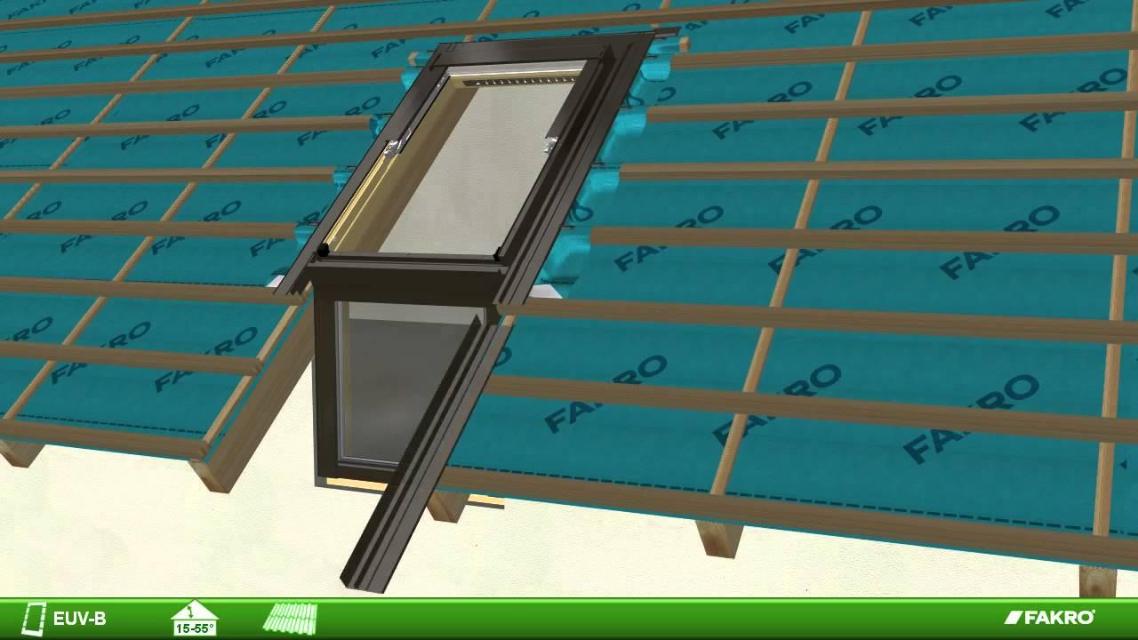 Fakro Roof Windows Euv B Flashing For L Shaped