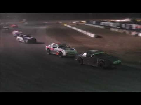 Salina Speedway *Mid America Clash5* IMCA Stock cars A Feature 9-30-17