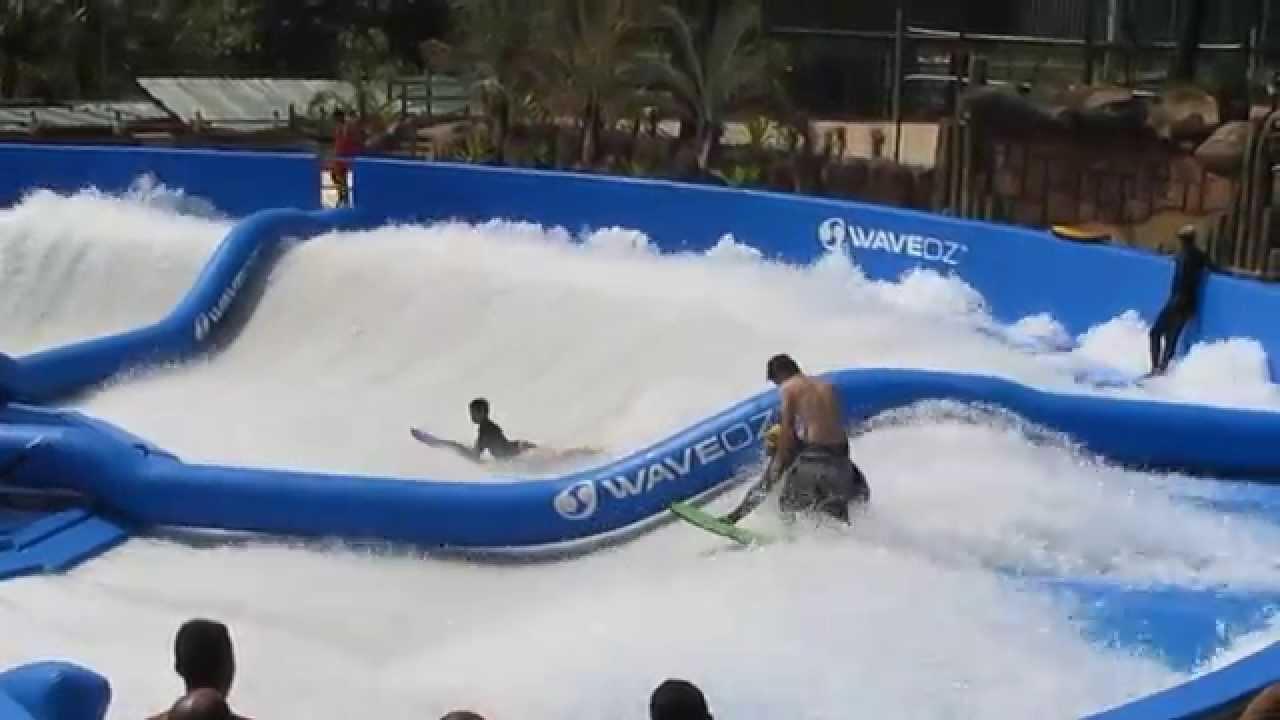 Piscina De Surf Unica Na America Latina Termas Dos