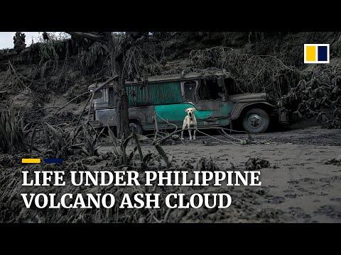 Philippine's Taal volcano