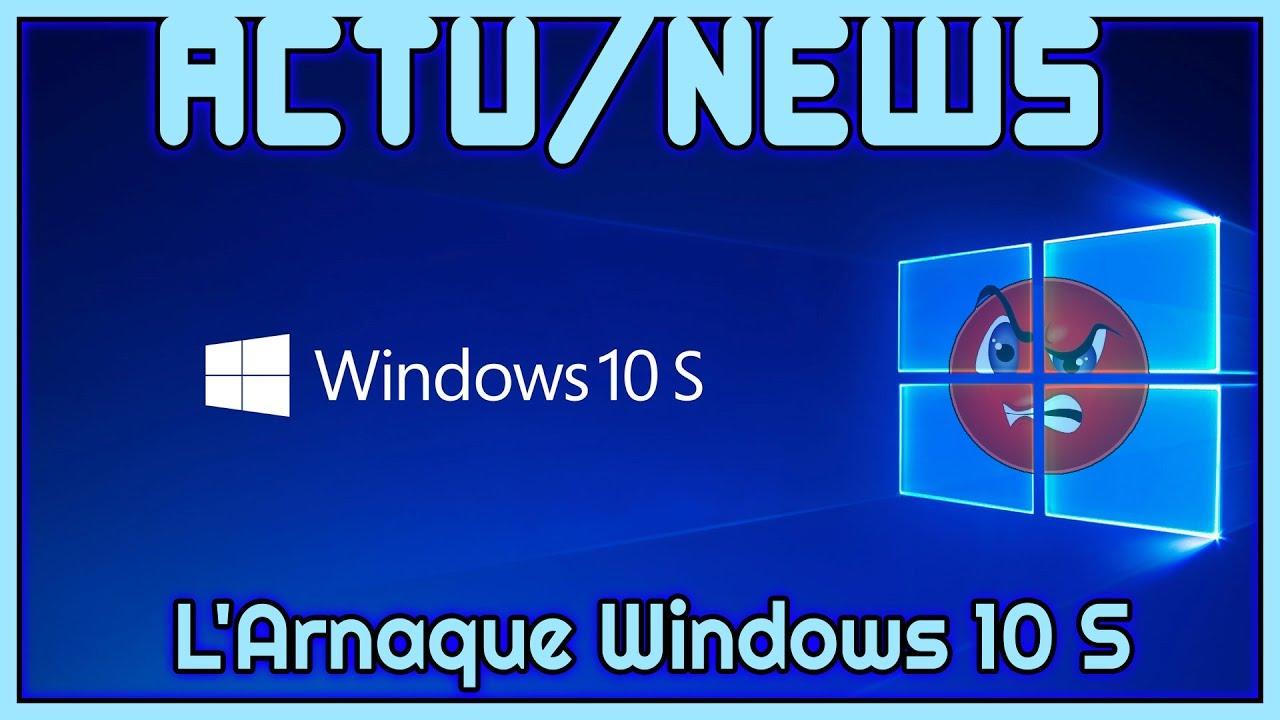 arnaque windows 10