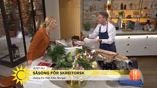 Säsong för torsk – Så tillagar du fisk på bästa sätt - Nyhetsmorgon (TV4)