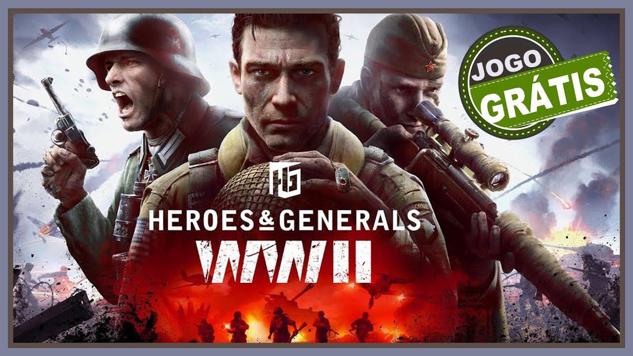 Heroes & Generals WWII - Este Jogo GRATUITO  vai te surpreender (CONFIRA)