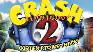Crash Bandicoot 2: N. Sane Trilogy - 102% Walkthrough (All Crystals, Gems & Platinum Relics) 60fps