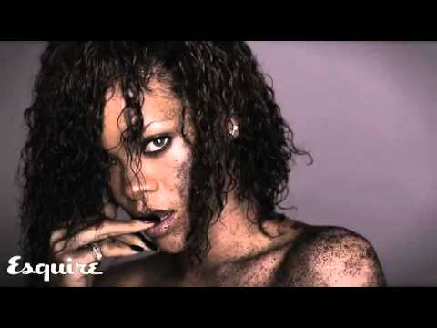 Rihanna Sexy Photoshoot For Esquire Magazine November 2011 (Lots o Skin)