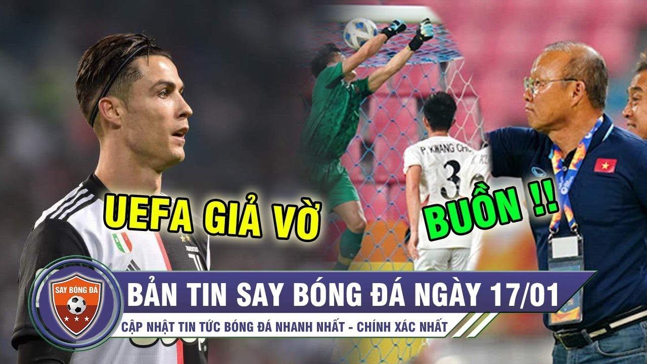 TIN HOT BÓNG ĐÁ 17/1 | UEFA bị tố gian lận để vinh danh Ronaldo – U23 VN về quê ăn tết sớm