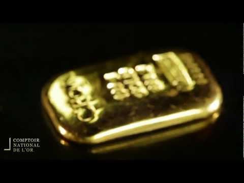 Lingotin 100g en Or - Comptoir National de l'Or (Gold.fr)