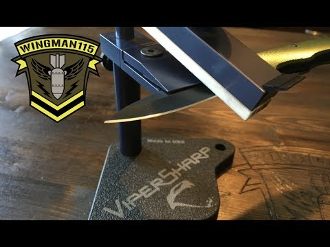 Best Knife Sharpening System In The World? - Viper Sharp Sharpening System