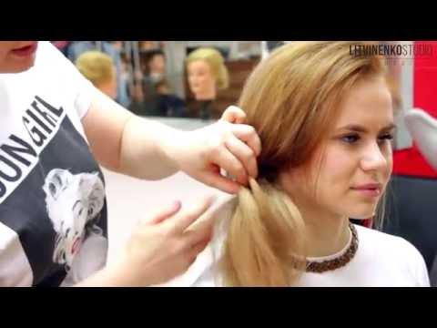 Причёска на выпускной