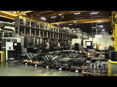 Titan Takes a Tour of Haas Automation
