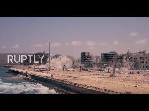 Libya: LNA tanks battle militants as Benghazi is reportedly liberated