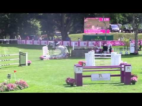 Electra Niarchos & UP AND DOWN BY WISBECQ | Finale CSI 1* Dinard 2015 Grand Prix 1m35