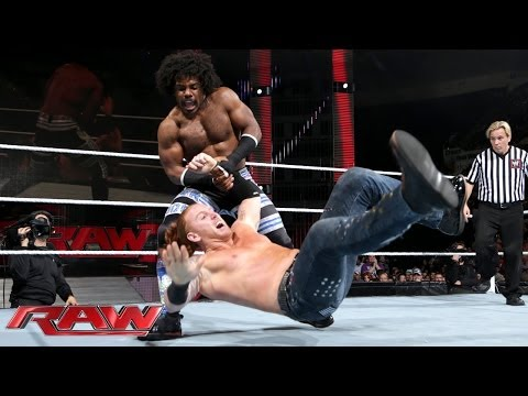 Xavier Woods vs. Heath Slater: Raw, Nov. 25, 2013