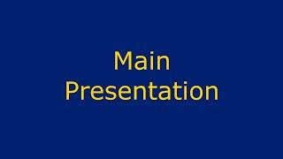 Main presentation 7