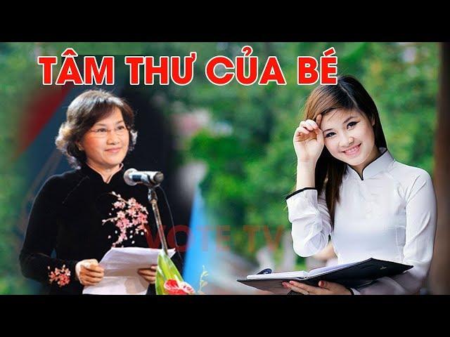 Cô gái gửi bức tâm thư tới chủ tịch quốc hội Nguyễn Thị Kim Ngân #VoteTv