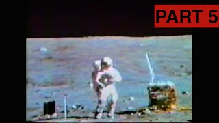 Apollo 16 - Lunar TV Transmissions Part 5 (Thumper/Geophone Experiment)