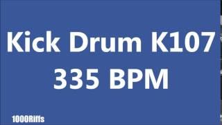 kick drum k107 000 bpm beats per minute