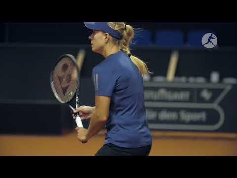 Fed Cup: Trainingsauftakt in Stuttgart