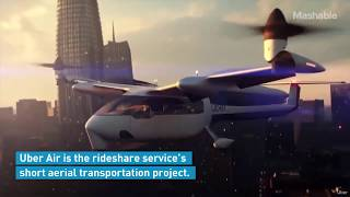 Uber Air Taxi! Innovative Future of 2020......