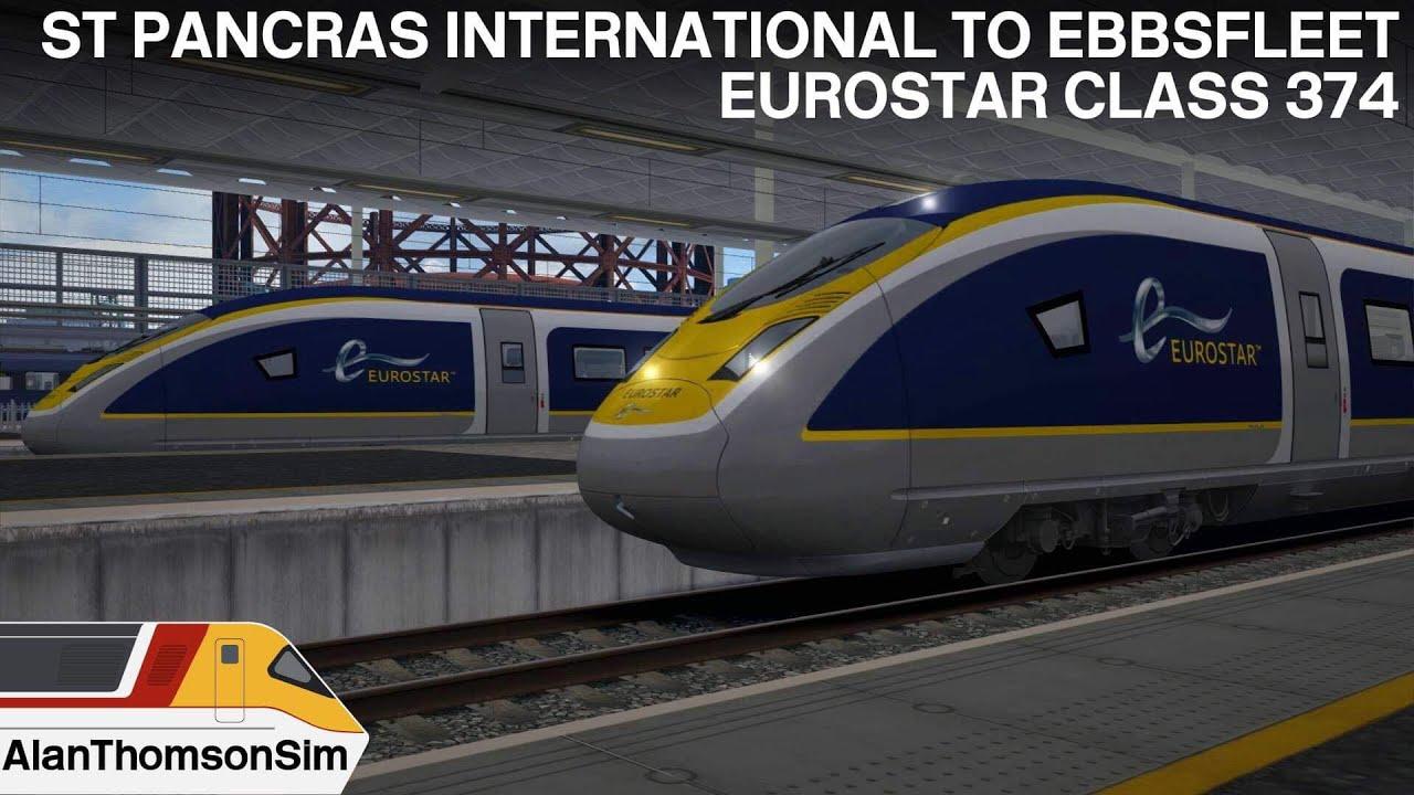 Train Simulator 2019: Class 374 (e320) St Pancras-Ebbsfleet International
