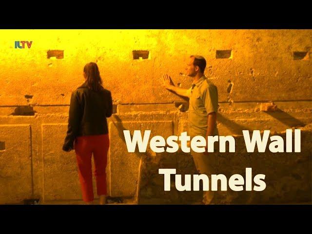 Cruising Israel - Western Wall Tunnels