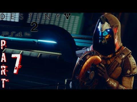 DESTINY 2 Gameplay Walkthrough Part 7 - Pools Of Luminance - Campaign (PS4 Pro)