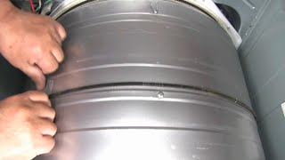 LG dryer belt replacing - See …