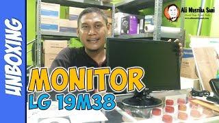 LED Monitor LG 19M38 UNBOXING | Toko Komputer Online