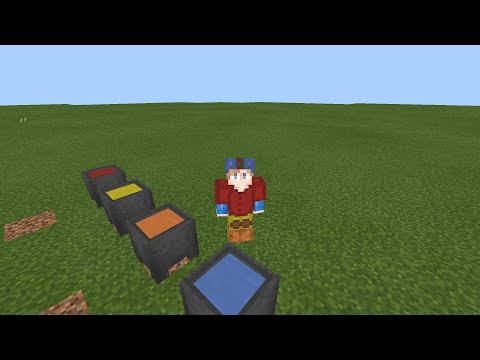 Как покрасить броню без модов в Minecraft Pe