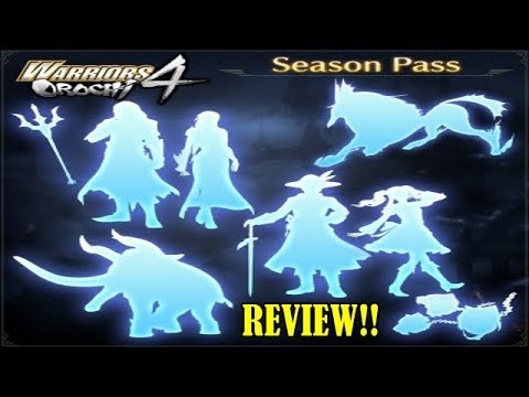 warriors orochi 4 deluxe edition season pass